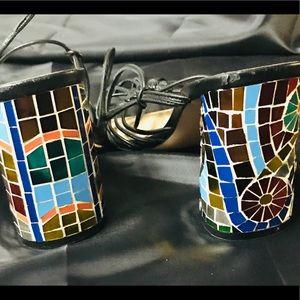 Christian Dior mosaic heels